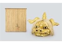 lion mask by ichimu yokoyama