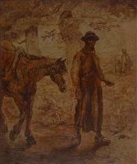 le paysan et son cheval by jean misceslas peské