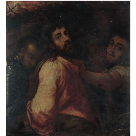the arrest of christ by michiel coxie the elder