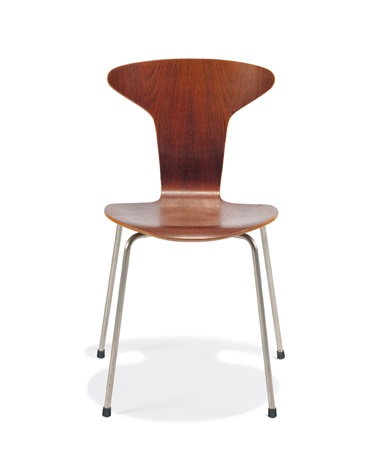 early stacking chairs model 3105 set of 6 by arne jacobsen