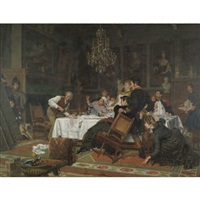 the surprise of the master's unexpected arrival by evert jan boks