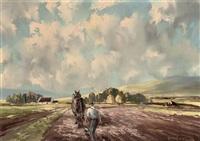 ploughman by arthur h. twells