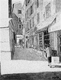 rue du vieux nice by jacques auger