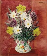 vase de fleurs by moïse kisling