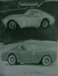 250 gt berlinetta by silvio pasotti