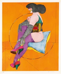 afternoon (portfolio with complete text and 8) by richard lindner