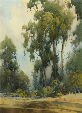 eucalyptus grove monterey by percy gray