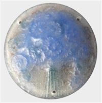 médaillon circulaire by gabriel argy-rousseau