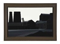 mill buildings, middleport by maurice wade