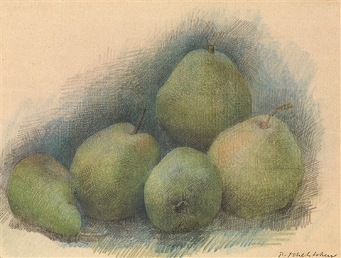 pears by pavel tchelitchew