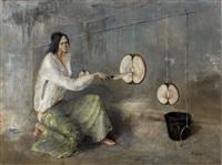 la coupeuse de pommes by stanislas lepri