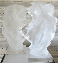 duet - quarter size (2 works) by frederick hart