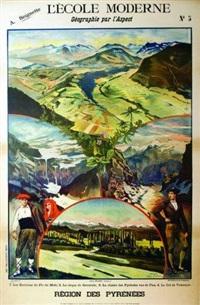 région des pyrénées by alexandre lunois