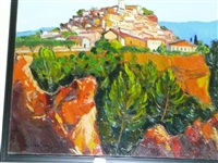 village de roussillon by georges coulomb