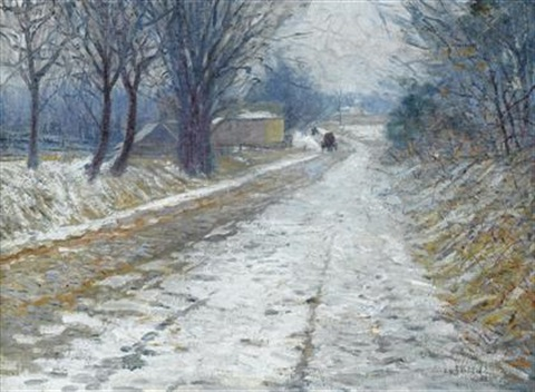 lime kiln pike pa by edward willis redfield