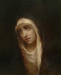 vierge en prière by modesto texidor y torres