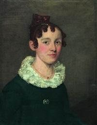 portrait of a woman by william p codman