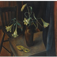 still life with lilies by johan buning