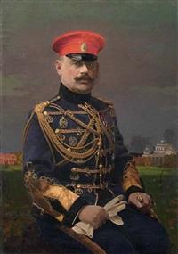 ritratto di ufficiale by f. komol