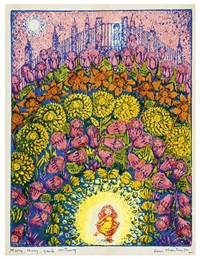 mary mary quite contrary (study for i saw a ship a sailing) by benito (beni) montresor