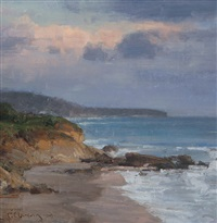 laguna beach, dusk by clyde aspevig