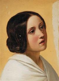 ritratto femminile by alessandro morani