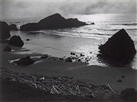 oregon coast, 1939 by edward weston