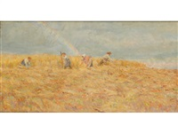 haymaking by lionel percy smythe