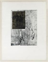 estudio de torso (+ perfil; 2 works) by roberto cortázar