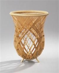 open work basket by tomoya yamaguchi