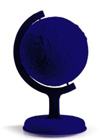 la terre bleue by yves klein