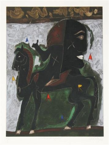 caballo prieto azabache by javier arévalo