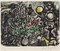 dawn by marc chagall