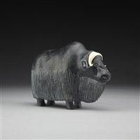 musk ox by isa smiler