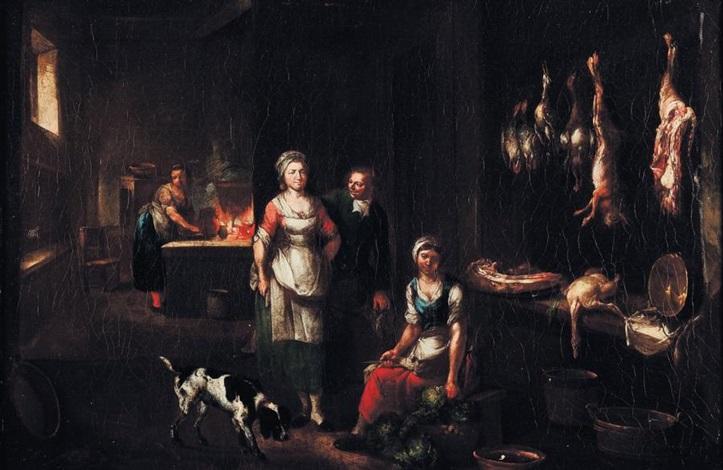 intérieur de cuisine by jan baptist lambrechts
