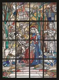 geburt christi, st. kolumba, köln by heinrich campendonk