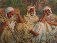 les trois sages by alphonse etienne dinet
