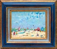 jeux sur la plage by christian baechler