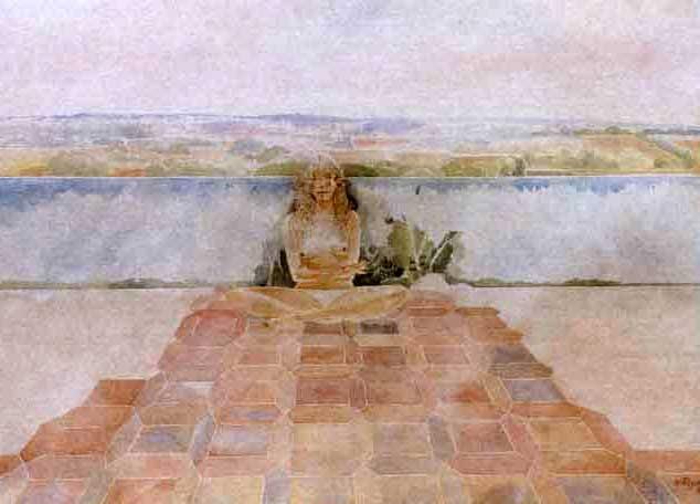 desnudo junto al mar by francesc artigau