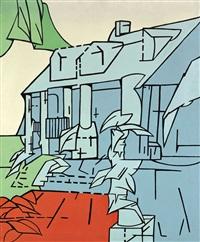 note alla casa di faulkner by valerio adami