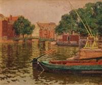 amsterdam canals by kalman kemney