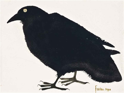 crow by mary fedden