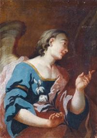 ein verkündigungsengel by bartholomäus altomonte