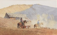 bitin' it dusty trails by david allen halbach