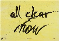 all is clear now by ugo carrega