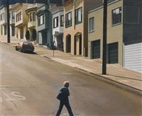 potrero stroller-crossing arkansas street by robert bechtle