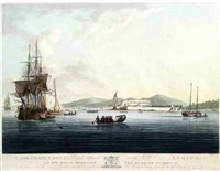 dixcove, a british settlement on the gold coast africa (+ 3 others; 4 works) by john hill
