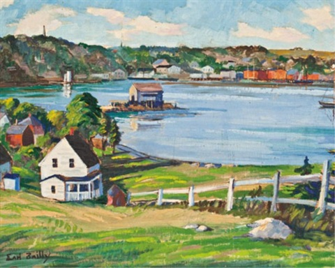 fishing village nova scotia by earl bailly