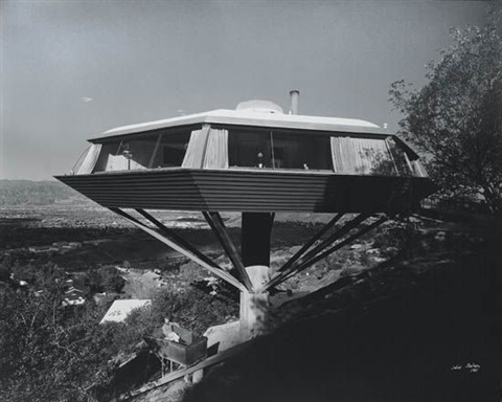 john lautner malin residence chemosphere house los angeles california by julius shulman