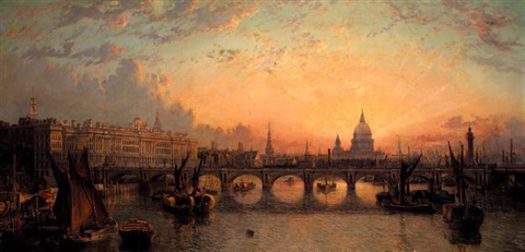 waterloo bridge by john macvicar anderson